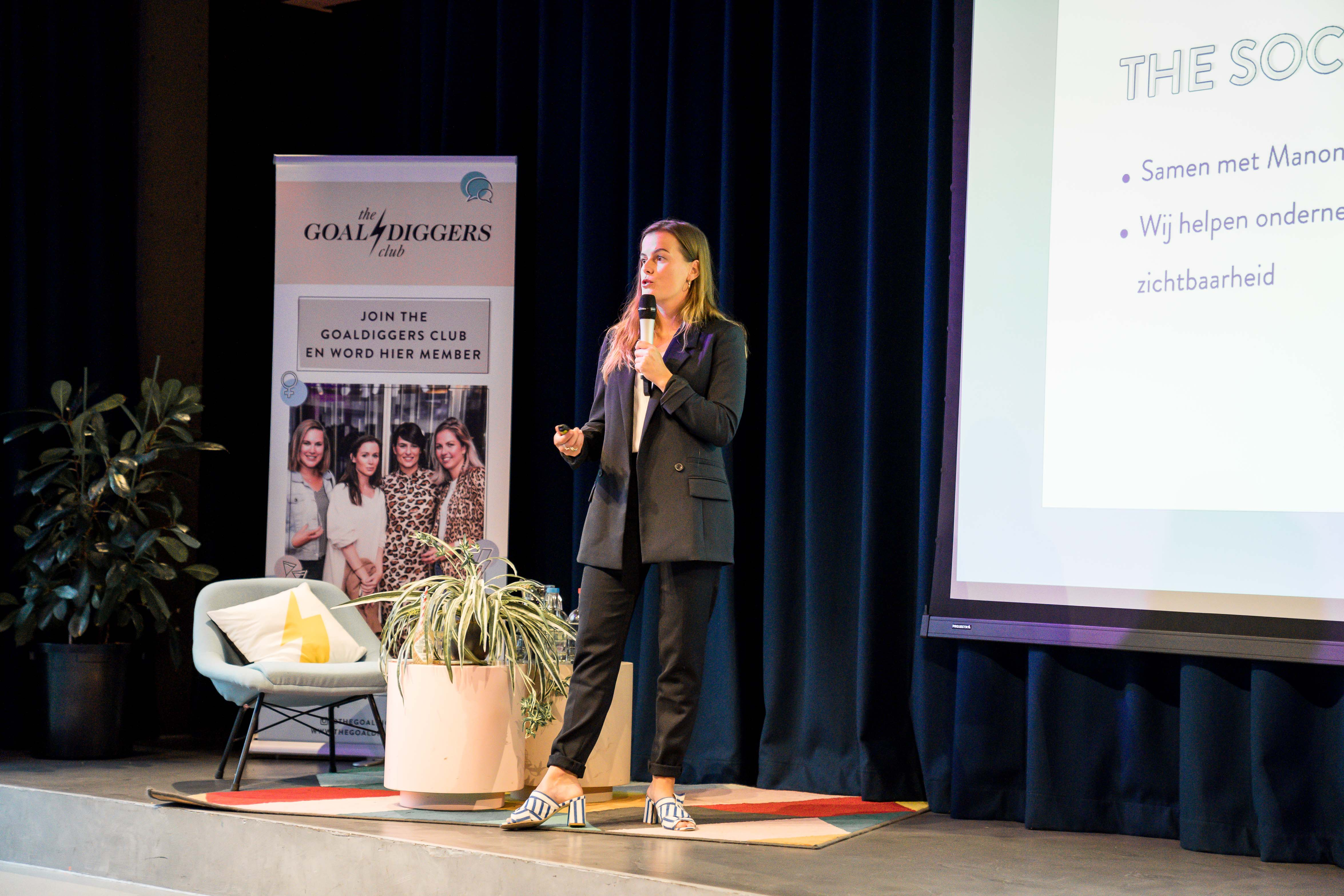 The Goaldiggers Clun Session Personal Branding The Student Hotel Tsh Collab Anouk van Vliet